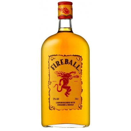 Fireball Whisky-Cinnamon Liqueur 0,7L
