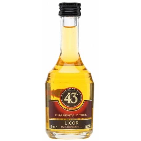 """Licor 43 """"Cuarenta y Tres"""" Liqueur 0,05L"""