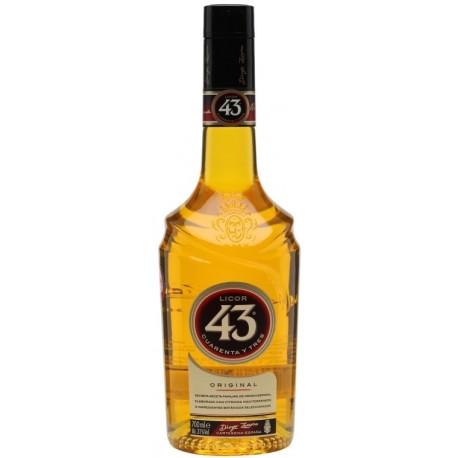 """Licor 43 """"Cuarenta y Tres"""" Liqueur 0,7L"""