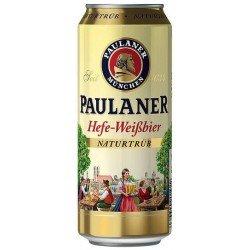 Paulaner Hefe-Weissbier Naturtrub 0,5L (plech)