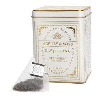 Harney & Sons - Darjeeling Classic (20 sáčků v plechovce)