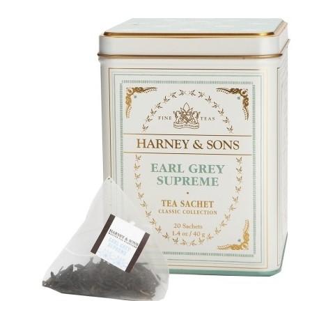 Harney & Sons - Earl Grey Supreme Classic (20 sáčků v plechovce)