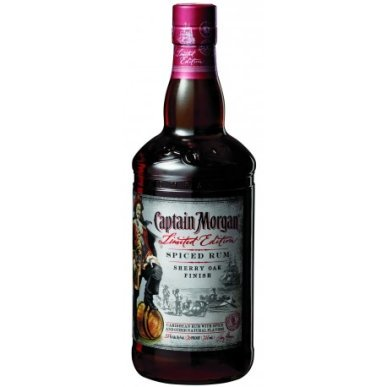 Captain Morgan Sherry Oak Finish Spiced Rum 0,75L
