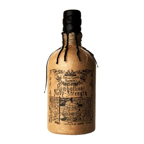 Professor Cornelius Ampleforth's Rumbullion! Navy Strength Rum 0,7L