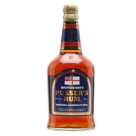 Pusser's British Navy Blue Label Rum 0,7L