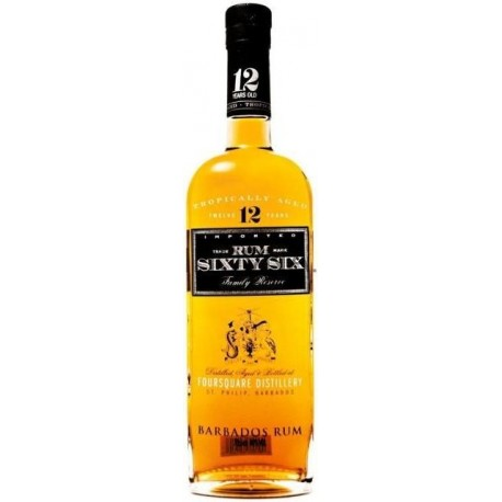 Sixty Six Family Reserve Rum 12 let 0,7L