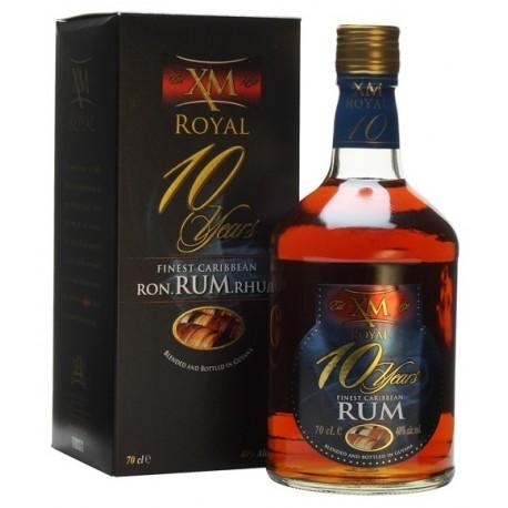 XM Royal Demerara Rum 10 let 0,7L