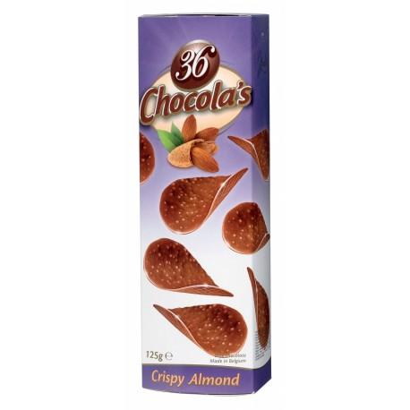 Chocola's - čokoládové lupínky s mandlemi 125g