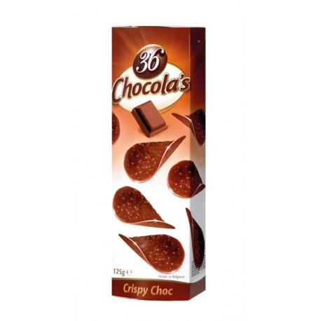 Chocola's - čokoládové lupínky z mléčné čokolády 125g