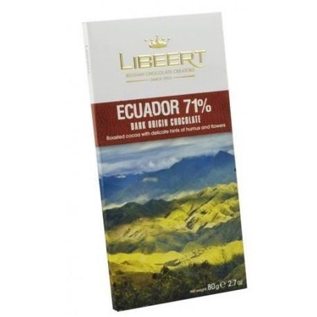 Libeert Ecuador - čokoláda s 71% kakaa 80g