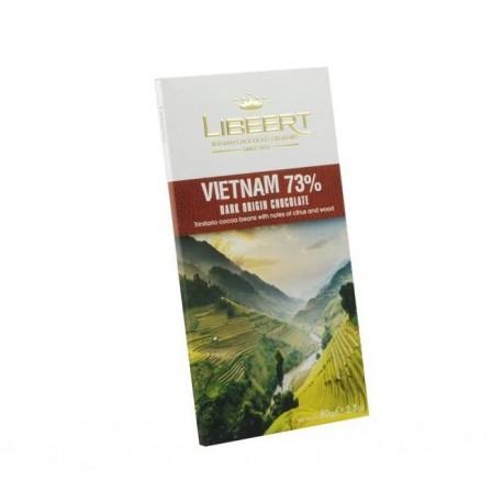 Libeert Vietnam - čokoláda s 73% kakaa 80g