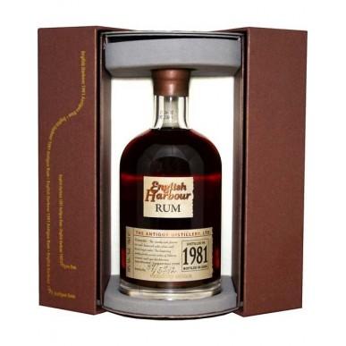 English Harbour Distilled 1981 Rum 25yo 0,7L