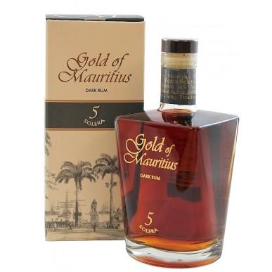 Gold of Mauritius Solera Dark Rum 5 let 0,7L
