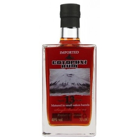 Cotopaxi Single Barrel Rum 13 let 0,7L