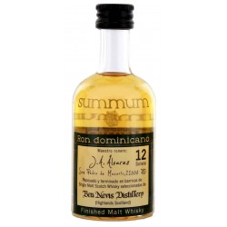 Summum Ron Dominicano Malt Whisky Finish Rum 12yo 0,05L
