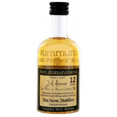 Summum Ron Dominicano Malt Whisky Finish Rum 12yo 0,05L