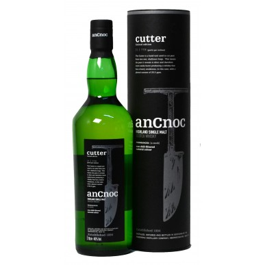 An Cnoc Cutter Limited Edition 20,5 ppm Whisky 0,7L