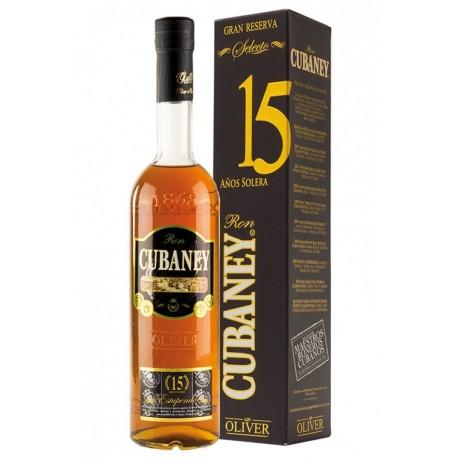 Cubaney Gran Reserva Estupendo Rum 15 let 0,7L