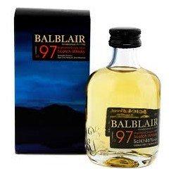 Balblair Vintage 1997 Whisky 0,05L