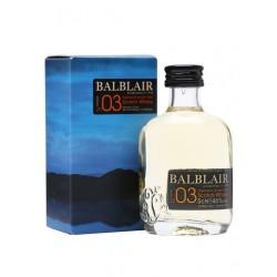 Balblair Vintage 2003 Whisky 0,05L