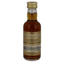 GlenDronach Parliament Oloroso und Pedro Ximenez Sherry Cask Whisky 21yo 0,05L