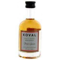 Koval Four Grain Whiskey 0,05L