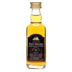 Poit Dhubh Blended Malt Whisky 21yo 0,05L