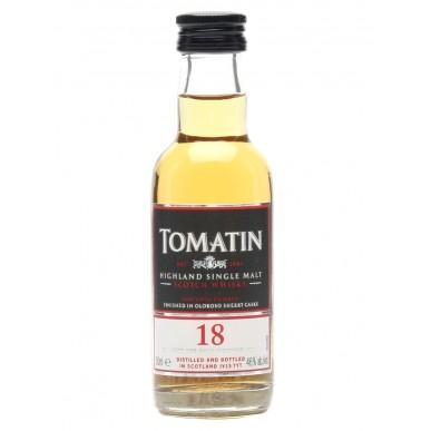 Tomatin Whisky 18yo 0,05L