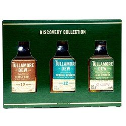 Tullamore Dew The Discovery Collection Whisky 3x0,05L
