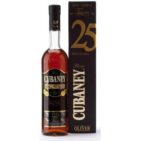 Cubaney Gran Reserva Tesoro XO Rum 25 let 0,7L