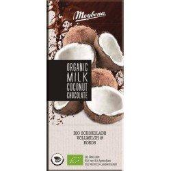 Meybona Organic - mléčná čokoláda s kokosem 100g