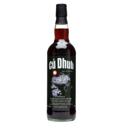 Cu Dhub Black Single Malt Whisky 1L