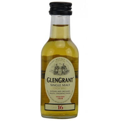 Glen Grant Whisky 16yo 0,05L