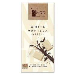 Ichoc White Vanilla Bio - čokoláda 80g
