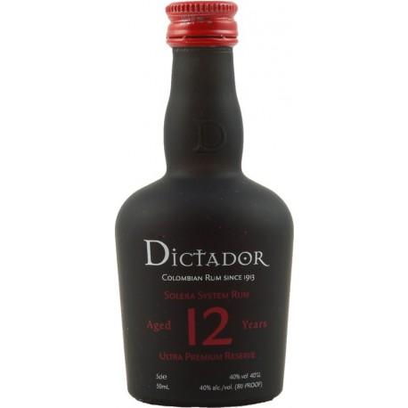 Dictador Solera Rum 12 let 0,05L