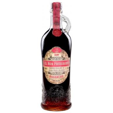 El Ron Prohibido Habanero Rum 12yo 0,7L