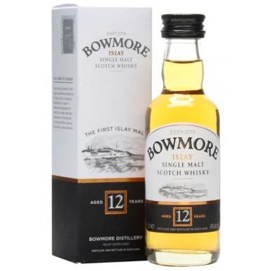 Bowmore Whisky 12yo 0,05L