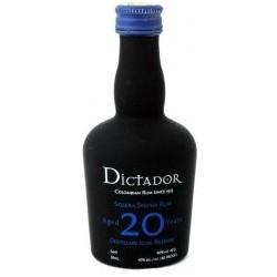 Dictador Solera Rum 20 let 0,05L