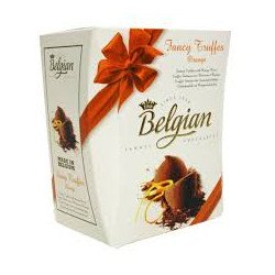Belgian - Fancy Truffles bonboniéra pomerančové pralinky 200g