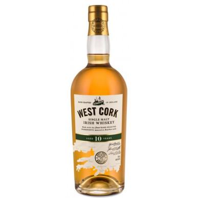 West Cork Single Malt Irish Whiskey 10yo 0,7L