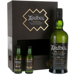 Ardbeg Exploration Pack Whisky 0,7L (+2 miniatury 0,05L)