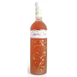 Glamour, Merlot rosé, 0,75L