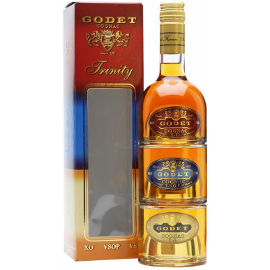 Godet Trinity Cognac Miniset 3x0,2L (VS + VSOP + XO)