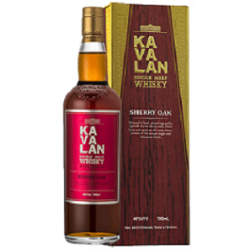 Kavalan Sherry Oak Whisky 0,7L