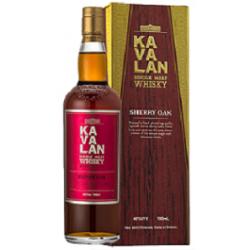Kavalan Sherry Oak Whisky 0,7L