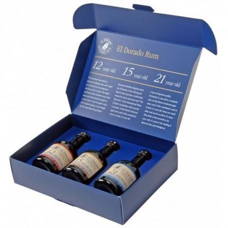 El Dorado Rum Miniset 3x0,05L