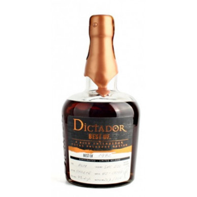 Dictador Best of 1987 Limited Release Rum 0,7L