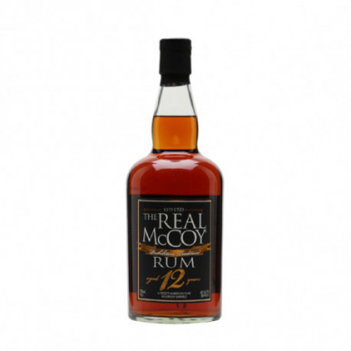 The Real McCoy Single Blended Rum 12yo 0,7L