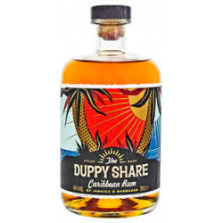 The Duppy Share Caribbean Rum 0,7L