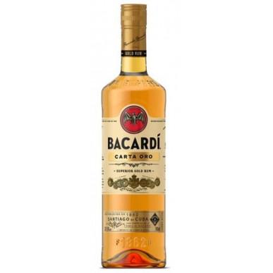 Bacardi Carta Oro Gold Rum 1L